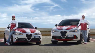Alfa Romeo Giulia Quadrifoglio and Stelvio Quadrifoglio F1