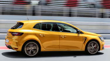 Renault Megane RS Trophy - side