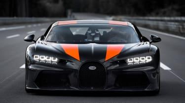 Bugatti Chiron - grille