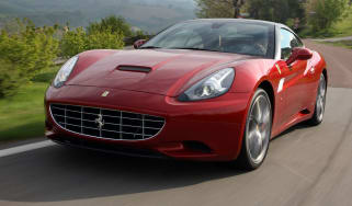 Ferrari California front tracking