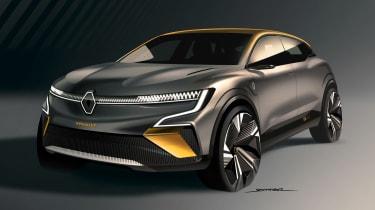 Renault Megane eVision - front/side