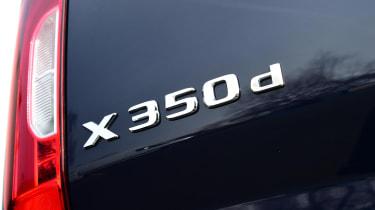 Long-term test review: Mercedes X 350 d - badge