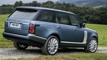 Range Rover SDV8 - side static