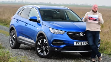 Vauxhall Grandland X long termer - fourth report header