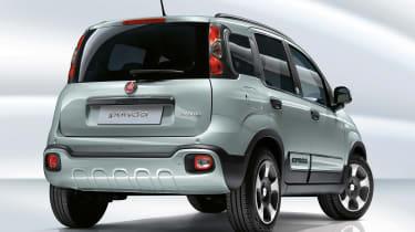 Fiat Panda rear hybrid