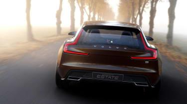 Volvo Concept Estate back