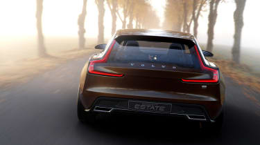 Volvo Concept Estate back