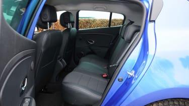Renault Megane GT 220 - rear seats