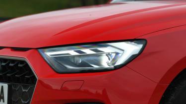Audi A1 - front lights