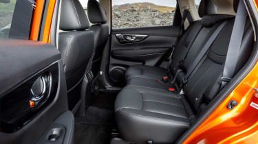 Nissan X-Trail - rear seats