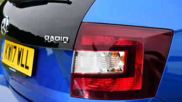 Skoda Rapid Spaceback - badge