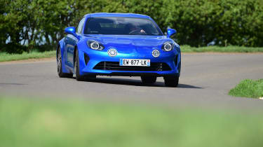 Alpine A110 - front action
