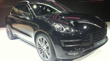 Porsche Macan Tokyo 2013 front