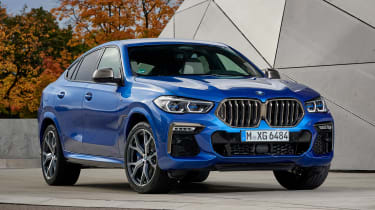 BMW X6 - front static