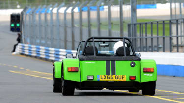 Long-term test review: Caterham 270S - fourth report pit lane