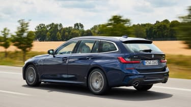 BMW 3 Series Touring - rear/side