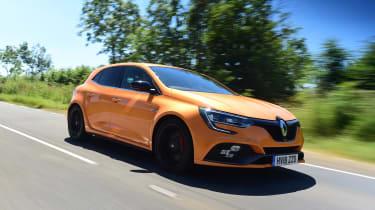 Renault Megane RS - front tracking