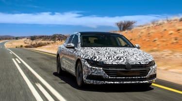 Volkswagen Arteon prototype - front tracking 2