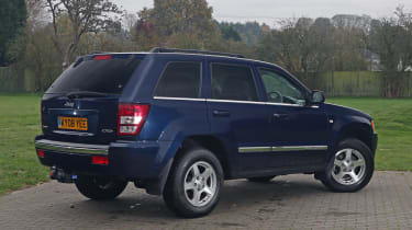 Used Jeep Grand Cherokee - rear