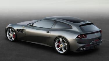 Ferrari GTC4 Lusso - rear quarter 2