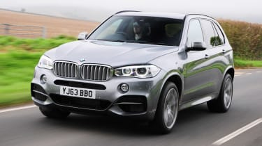 BMW X5 M50d 4x4 2013 front track