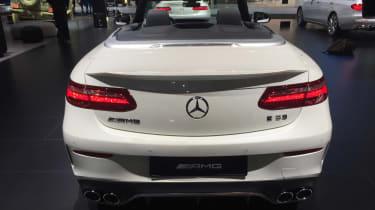 Mercedes-AMG E 53 Cabriolet - Detroit full rear