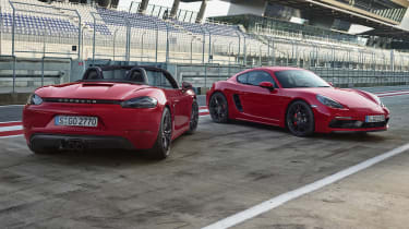 Porsche Cayman GTS and Boxster 718 GTS
