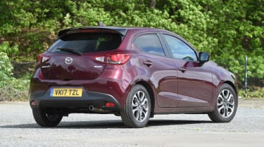 Mazda 2 - rear