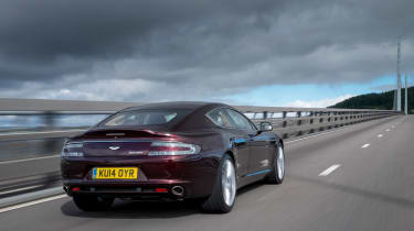 Aston Martin Rapide S 2014 rear action