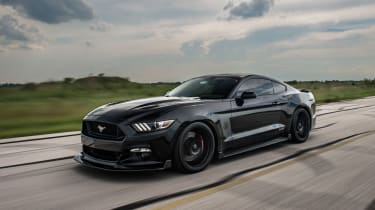 Hennessey Ford Mustang HP800 - front tracking