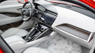 Jaguar I-Pace prototype 2017 - interior