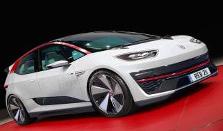 Volkswagen electric GTI ID - exclusive image.