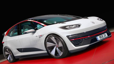 Volkswagen electric GTI ID - exclusive image.