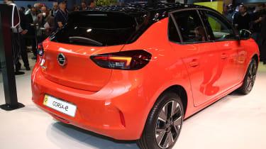 Vauxhall Corsa-e - Frankfurt rear