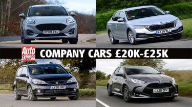 Company cars £20k - £25k