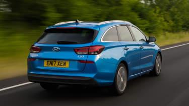 Hyundai i30 Tourer - rear tracking