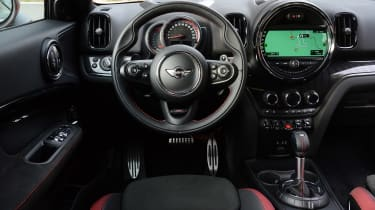 MINI JCW Countryman - dash