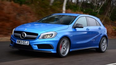 Mercedes A45 AMG 2014 front
