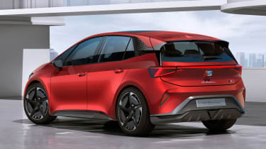 SEAT el-Born concept - rear