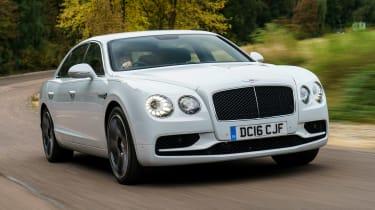 Bentley Flying Spur V8 S - front tracking