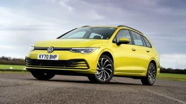 Volkswagen Golf Estate - front static