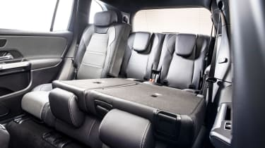 Mercedes GLB - studio rear seats down