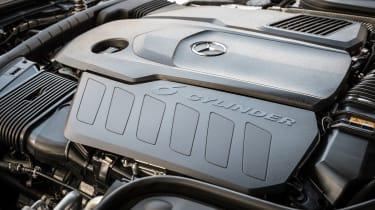Mercedes CLS 400 d - engine