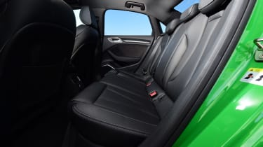 audi rs 3 saloon rear seats