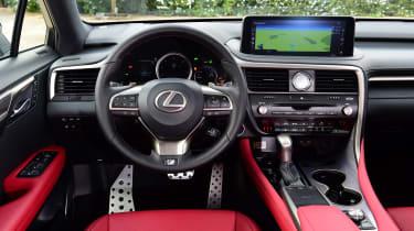 Lexus 450h F Sport - interior