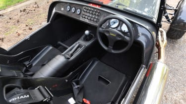Convertible megatest - Caterham Seven 620S - interior