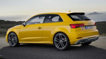 Audi S3 hatch 2017 - side profile