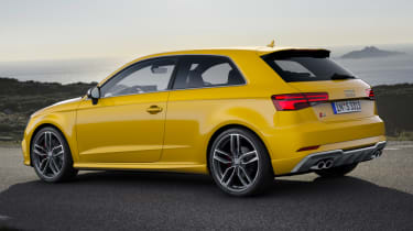 Audi S3 hatch 2017 - side profile
