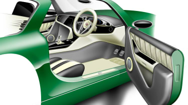 MG Horizon concept sketch - interior