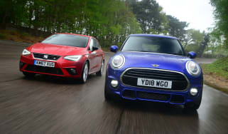 MINI Cooper vs SEAT Ibiza - header
